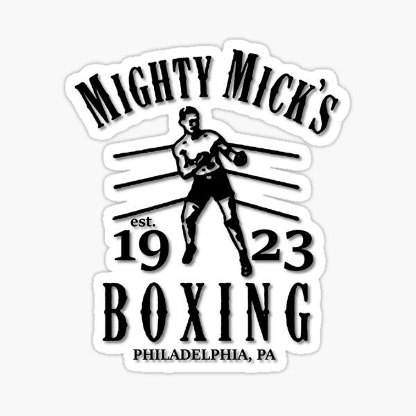 Mighty Mick's Gym Pegatina