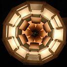 Barcelona lampshade by mapkyca