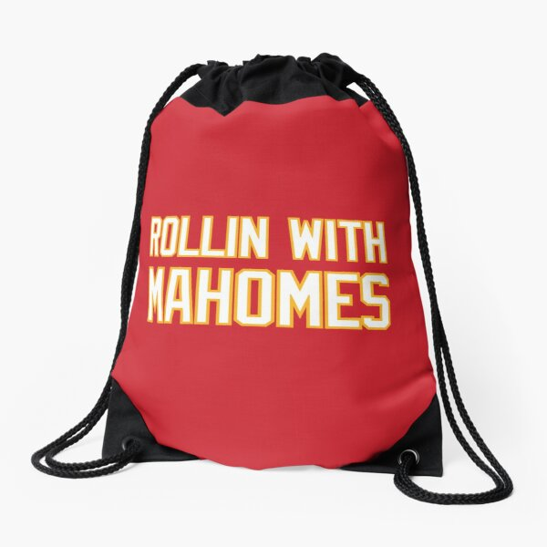 Rollin with Mahomes 2 Drawstring Bag