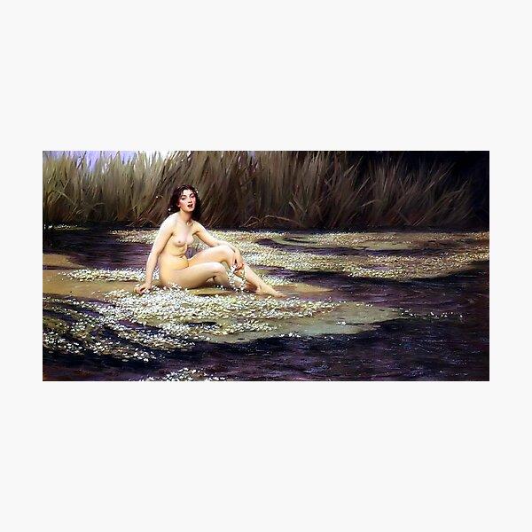 The Water Nymph - Herbert James Draper Photographic Print