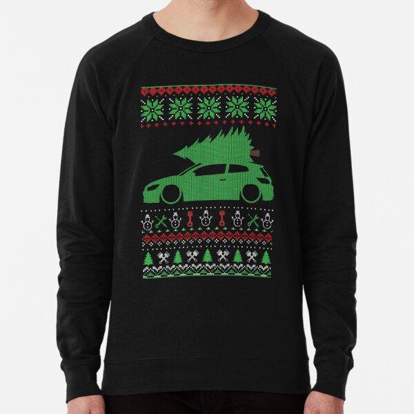 Scirocco 3 R MK3 Christmas Ugly Sweater XMAS Lightweight Sweatshirt
