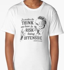 Jordan Peterson Illustration and Quote Long T-Shirt