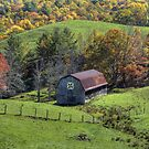 Barn in the Valley by Jane Best