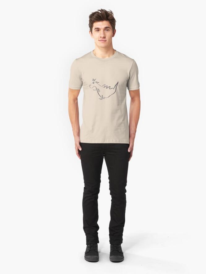 Alternate view of Little dinosaur Slim Fit T-Shirt