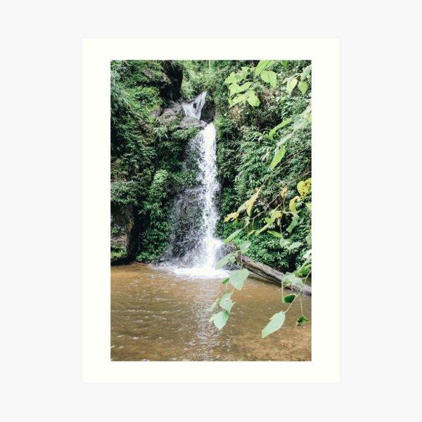 Waterfalls, Thailand  Art Print