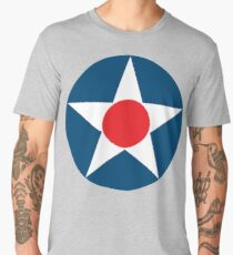 AIR FORCE, USAF, SYMBOL, WWII, USA, Pre War, To May 1942 Men's Premium T-Shirt