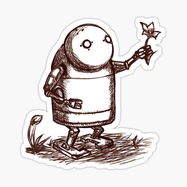 NieR:Automata Robot Sticker