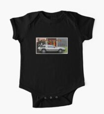 Back to the Future - Delorean One Piece - Short Sleeve