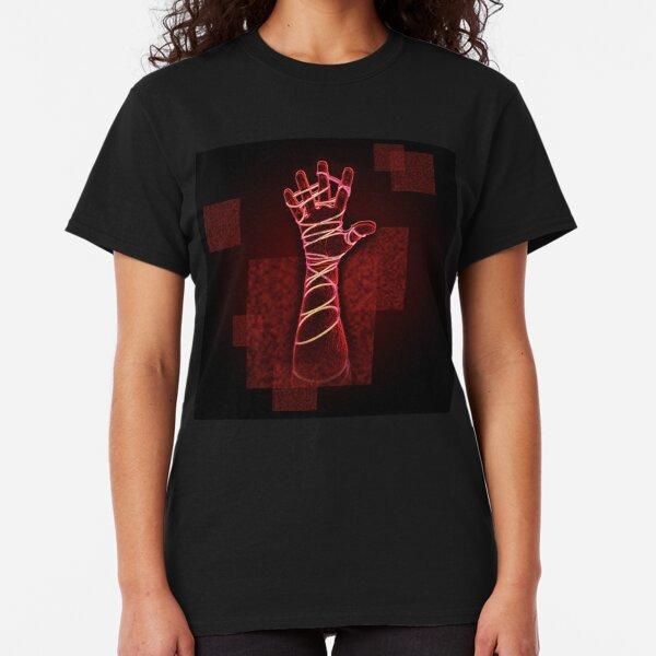 Red Neon Reach Classic T-Shirt