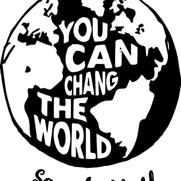 save the world typography  by kartickdutta101