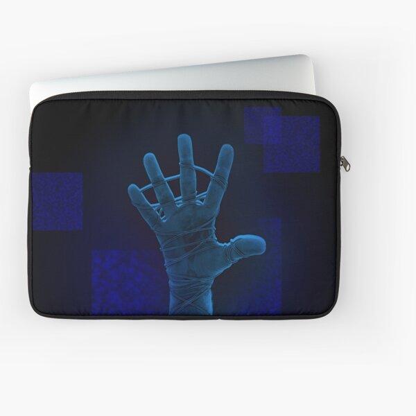 Neon Blue Reach Laptop Sleeve