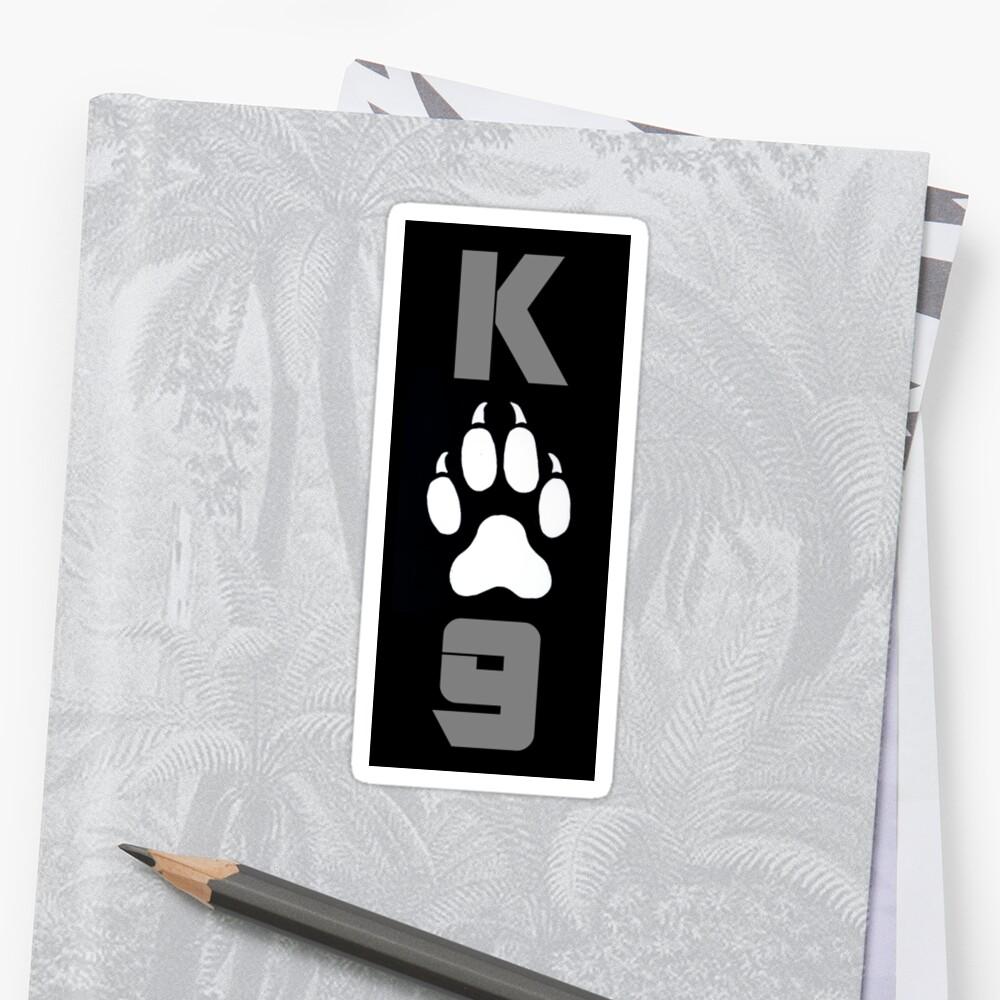 K9 Sticker