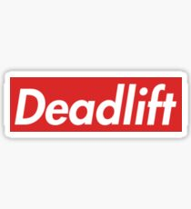 Deadlift Supreme Style Sticker