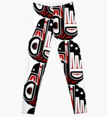 5687528f98361f Aboriginal Art Authentic - Sea Turtles Leggings. By HogarthArts. $43.33.  Iyinisiw - He is wise. Leggings