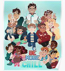 Seien Sie mehr Chill Broadway Cast Poster