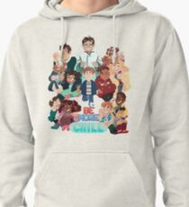 Be More Chill Broadway Cast Pullover Hoodie