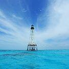 Alligator Reef Light by kathy s gillentine