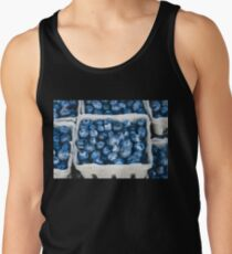Blueberry Blue Delicious Fruit Food Sweet Healthy Tank Top
