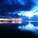 Islamorada , Fl. at sunrise by kathy s gillentine