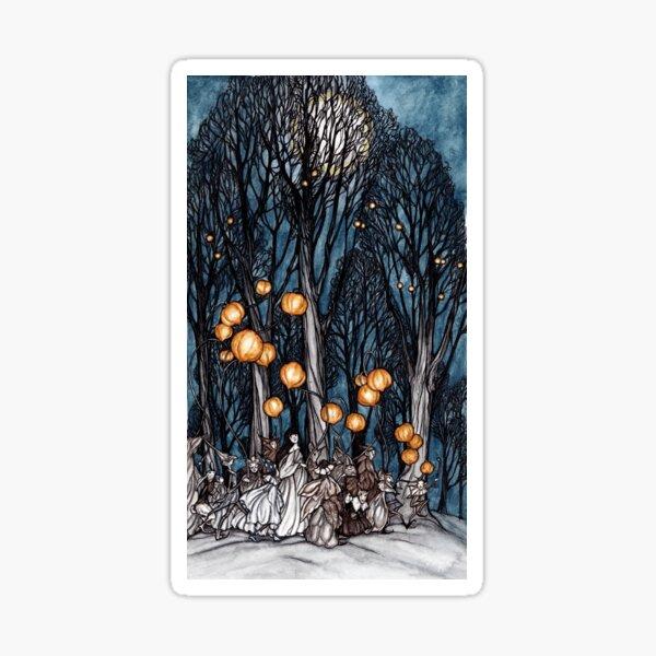 Fairy Lanterns Sticker