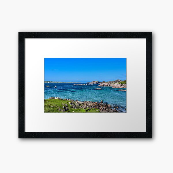 Fionnphort Bay, Isle of Mull, Scotland Framed Art Print