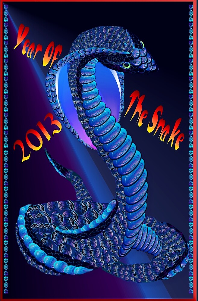 2013-Year Of The Snake- by Lotacats