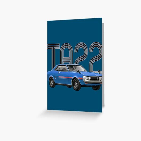 TA22 JDM Classic - Blue Greeting Card