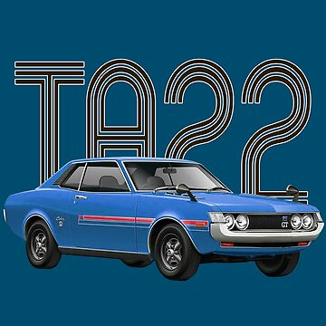 TA22 JDM Classic - Blue by carsaddiction