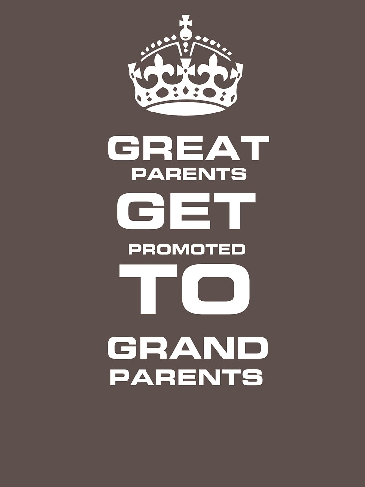 Great Parents Get Promoted  to Grandparents - Goods and T-Shirts for perfect gift  by Mila11