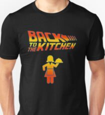 Back To The Kitchen  Slim Fit T-Shirt