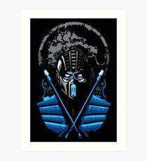 Mortal Kombat - Sub Zero Art Print