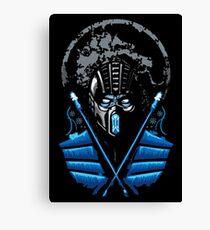 Mortal Kombat - Sub Zero Canvas Print