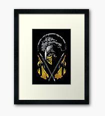 Mortal Kombat - Scorpion Framed Print