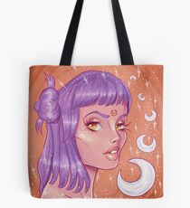 """Modern Witch"" Tote Bag"