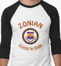 Zonian living in exile Baseball ¾ Sleeve T-Shirt