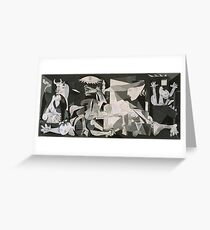 Picasso Guernica Greeting Card
