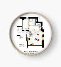 BAREFOOT IN THE PARK - (Almost) Empty apartment Clock