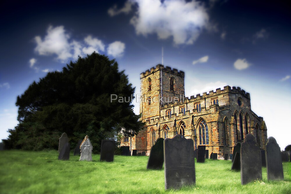 Breedon on the Hill Priory Church by Paul Blackwell