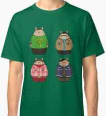 Camiseta clásica Big Bang Totoro
