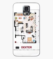 Floorplan of the apartment from DEXTER - V.1 Case/Skin for Samsung Galaxy