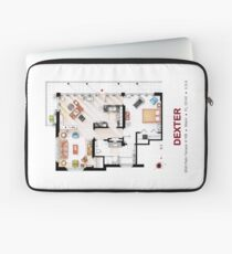 Floorplan of the apartment from DEXTER - V.1 Laptop Sleeve