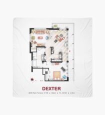 Floorplan of the apartment from DEXTER - V.1 Scarf