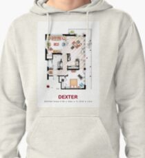 Floorplan of the apartment from DEXTER - v.2 Pullover Hoodie