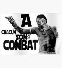 A chacun son combat ! Poster