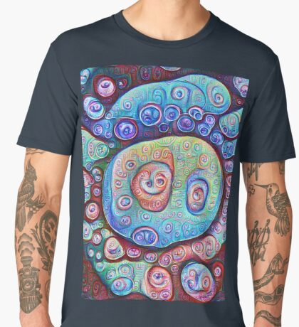 #DeepDream Ice 5x5K v1450338773 Men's Premium T-Shirt