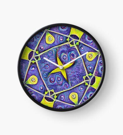 #DeepDream Kiwi 5x5K v1455289624 Clock