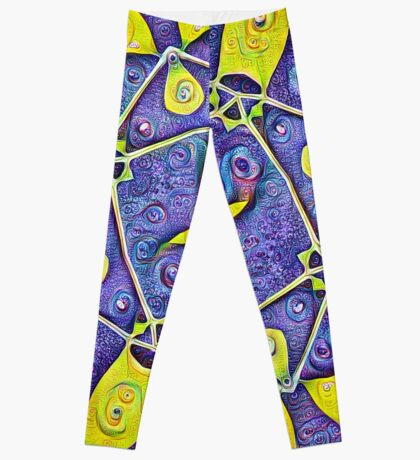 #DeepDream Kiwi 5x5K v1455289624 Leggings