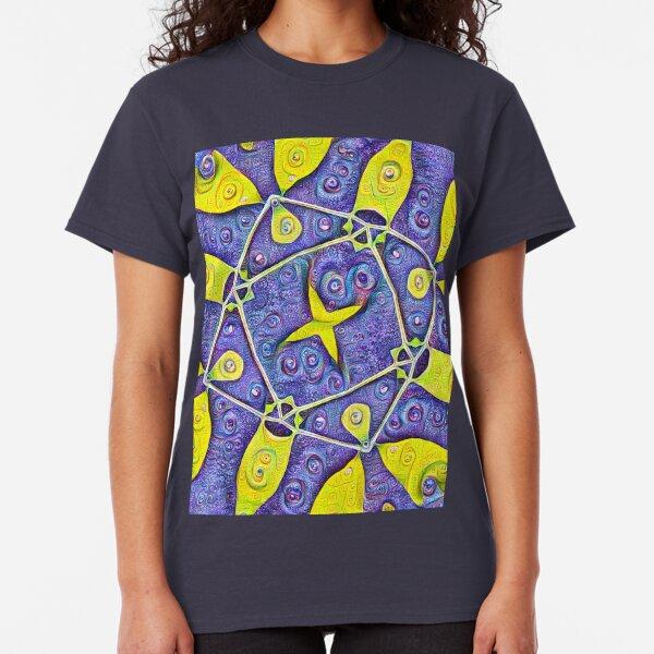 #DeepDream Kiwi 5x5K v1455289624 Classic T-Shirt