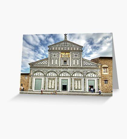 San Miniato al Monte - Florence Greeting Card
