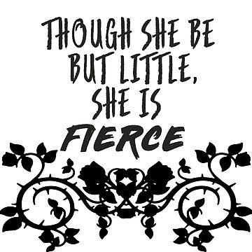 she is fierce  by jordan804